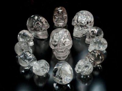 Misterij kristalnih lubanja.......