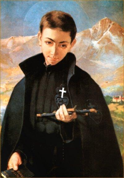 Svetac dana – Sveti Gabrijel od Žalosne Gospe