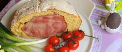 Šunka u kukuruznom kruhu koju morate napraviti za Uskrs