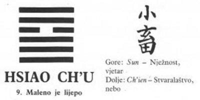 I CHING - 9.HSIAO CH'U - Maleno je lijepo