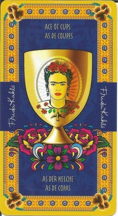 Frida Kahlo Tarot - MALE ARKANE (kaleži)