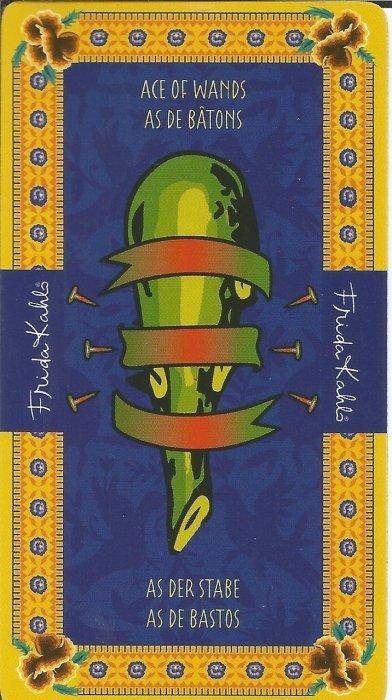 Frida Kahlo Tarot - MALE ARKANE - AS ŠTAPOVA