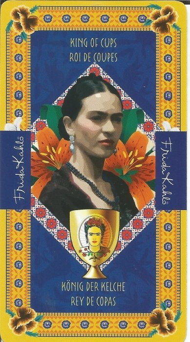 Frida Kahlo Tarot - MALE ARKANE - KRALJ PEHARA