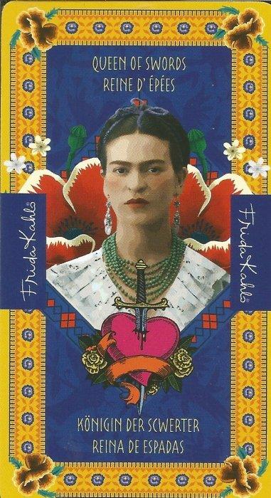 Frida Kahlo Tarot - MALE ARKANE - KRALJICA MAČEVA