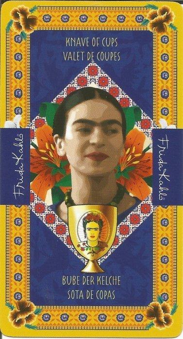 Frida Kahlo Tarot - MALE ARKANE - PAŽ PEHARA