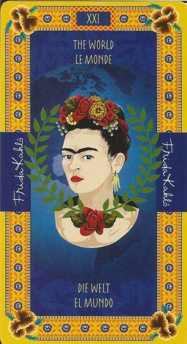 Frida Kahlo Tarot - VELIKE ARKANE - SVIJET