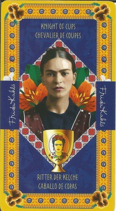Frida Kahlo Tarot - MALE ARKANE - VITEZ PEHARA