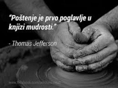 Poštenje je prvi dio mudrosti