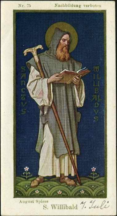 Svetac dana – Sveti Vilibald