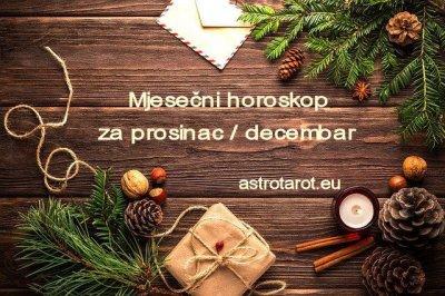 Mjesečni horoskop za prosinac / decembar 2020