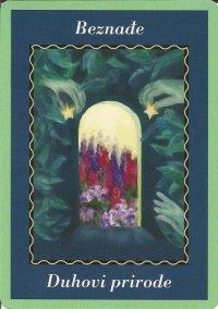 Karte duhovnih vodiča - Značenja karata - Beznađe 1 (duhovi prirode)