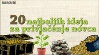 Privlačenje novca - 20 najboljih ideja