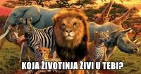 KOJA ŽIVOTINJA ŽIVI U NAMA:)))