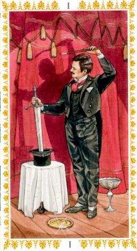 Romantični tarot -Mađioničar