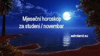 Mjesečni horoskop za studeni / novembar 2020
