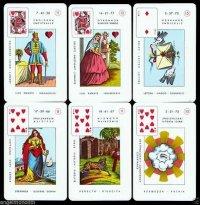 Velike Lenormand karte za proricanje, 56 karata 1830 - 1950. g.